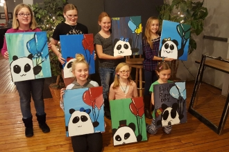 Birthday Painting Event